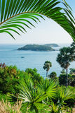 View of the Andaman Sea from the viewing point, Royalty Free Stock Photo
