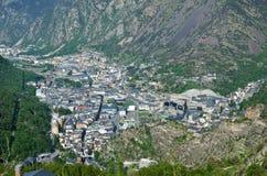 View of Andorra la Vella Royalty Free Stock Photo