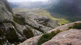 View from Andringitra massif as seen during trek to Pic Boby / Imarivolanitra, Madagascar highest accessible peak