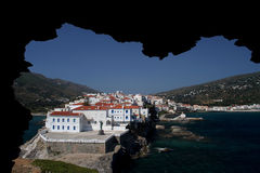 View of Andros Royalty Free Stock Images