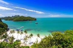 View of Ang Thong National Marine Park Royalty Free Stock Photography