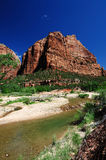 A View of Angels Rest at Zion Stock Photo