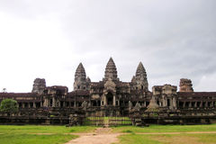 View of Angkor stock image