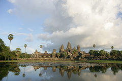 View of Angkor Wat Royalty Free Stock Images