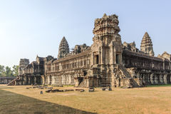 The view of  Angkor Wat, Siem Reap, Cambodia. Royalty Free Stock Image