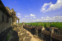 View from Angkor Wat. Stock Image