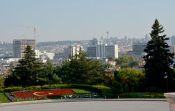 View on Ankara from the Ataturk Mausoleum Royalty Free Stock Photography