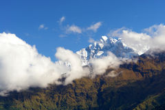 View of annapurna mountain, Nepal Stock Photos