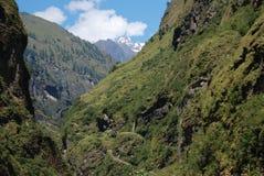 View of Annapurna, Nepal Royalty Free Stock Photos