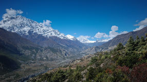 View of Annapurna, Nepal Stock Photography
