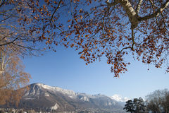 View of Annecy, France. Stock Images