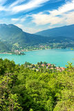View of the Annecy lake Stock Images