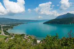 View of the Annecy lake Stock Photos