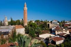 View at the Antalya. Classical view at the Antalya, Turkey Royalty Free Stock Photos
