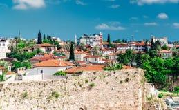 View of Antalya city Royalty Free Stock Photography