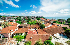 View of Antalya city, Turkey Royalty Free Stock Photos