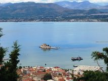 view from Antalya in Turkey holiday resort Royalty Free Stock Photography