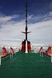 View from antarctic research ship, Antarctica Stock Image