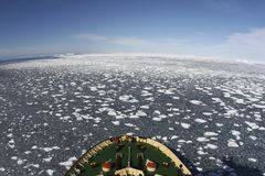 View of Antarctica Stock Images