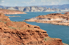 View of Antelope Island - Lake Powell Stock Images