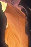 View of Antelope �Slot� Canyon in Page, Arizona Royalty Free Stock Photos