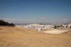 A view of Antequera and the Indians head Stock Photography