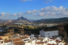 View of the Antequera, Spain Royalty Free Stock Photography