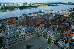 View of Antwerp Royalty Free Stock Photography