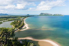 View of Ao Prachuap, Landmark of Prachuap Khiri Khan Province , Stock Photography