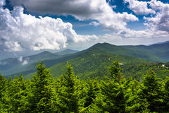 View of the Appalachian Mountains from the Observation Tower at Royalty Free Stock Photo