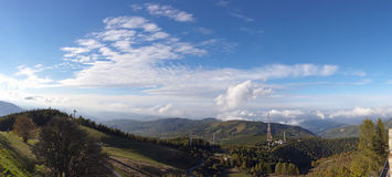 View from the appennines Royalty Free Stock Photo