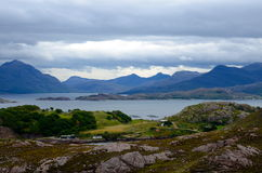 View from Applecross peninsula Stock Image