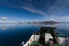 The view approaching Harris Island Stock Image