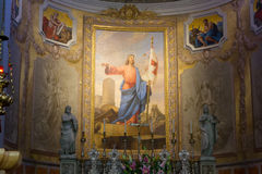 View of the Apse in the Duomo of Palmanova Stock Photography