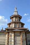 View of an apse of Holy Trinity Cathedral of the Trifonov-Pechengsky man's monastery Royalty Free Stock Images