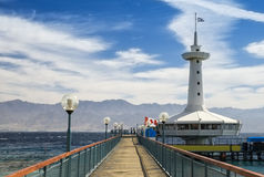 Underwater observatory in Eilat, Israel Stock Images