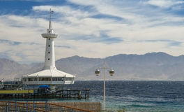 Underwater observatory in Eilat, Israel Stock Photos
