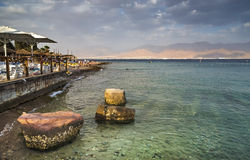 View on Aqaba and the Red sea Royalty Free Stock Image