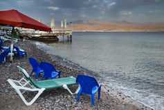 View on Aqaba and the Red sea Stock Photos