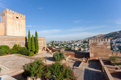 View of the Arab quarter in Granada Stock Photography