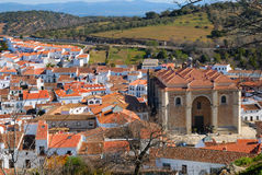 View of Aracena Royalty Free Stock Photo