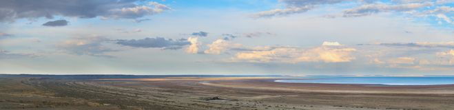 View of Aral sea Royalty Free Stock Photos