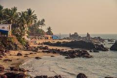 View of Arambol Beach Royalty Free Stock Image