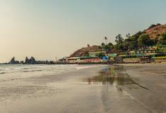 View of Arambol Beach Stock Image