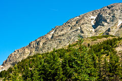 View from Arapahoe Pass Trail Royalty Free Stock Photo