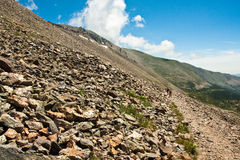 View from Arapahoe Pass Trail Royalty Free Stock Photos