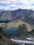 View of Arapahoe Pass Trail Royalty Free Stock Photos