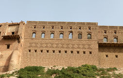 The Castle of Arbil, Iraq. View of Arbil Castle in the North of Iraq Royalty Free Stock Photos