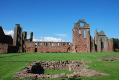 View of Arbroath Abbey Stock Image