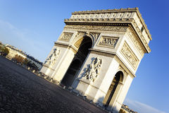 View of Arc the Triomphe Stock Images